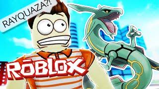 Roblox Adventures / Pokemon GO / FINDING RAYQUAZA!