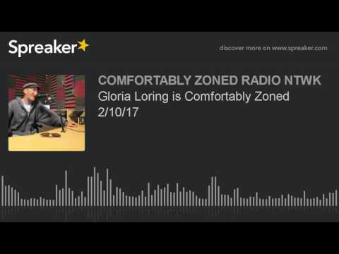 Gloria Loring is Comfortably Zoned 2/10/17