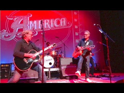 """America """"Sister Golden Hair"""" Live at Ridgefield Playhouse - March 16, 2016"""