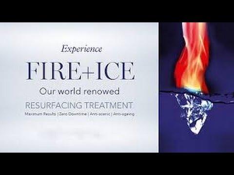 Feuer Eis Gesichts — foto 11