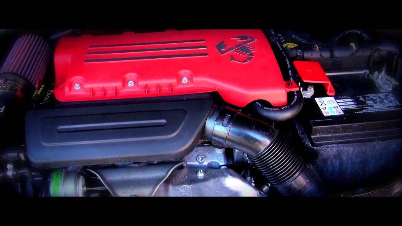 Fiat 500 Abarth with EuroCompulsion Intake