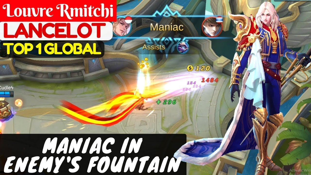 how to get maniac in mobile legends