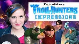 Netflix DreamWorks TROLLHUNTERS Impressions - Madi2theMax
