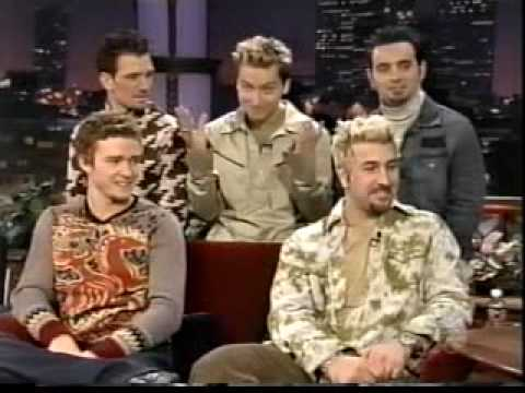 Nsync Live at Jay Leno part 2