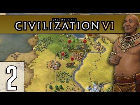 THE INDONESIAN INVASION - Civilization 6 Gameplay (1440p) - Khmer - Part 2