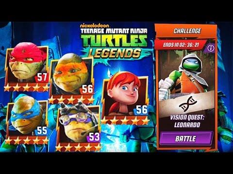 Teenage Mutant Ninja Turtles Legend: Vision Quest Leonardo