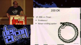 Defcon 21 - Defense by numbers: Making Problems for Script Kiddies and Scanner Monkeys