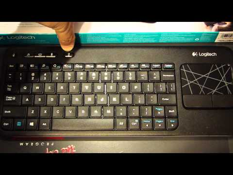Repeat Logitech Wireless Touch Keyboard K400 Review by