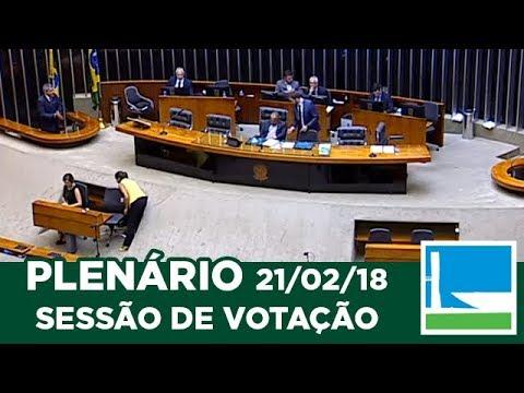 PLENÁRIO - Sessão Deliberativa - 21/02/2018 - 13:55