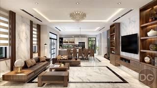 25 mẫu thiết kế nội thất phòng khách đẹp hiện đại mới nhất 2018