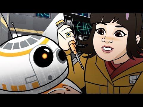 Star Wars Forces of Destiny  Shuttle Shock  Disney