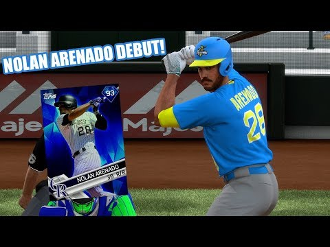 93 Nolan Arenado Debut! He Tried Friendly Quitting! - MLB The Show 17 Diamond Dynasty Gameplay