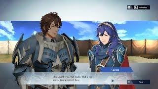 Fire Emblem Warriors - Frederick & Lucina Support Conversation