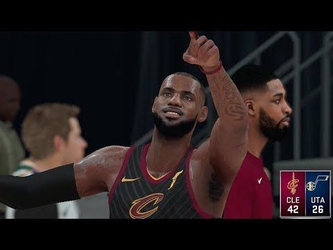 NBA Dec 30 - Cleveland Cavaliers vs Utah Jazz | Full NBA Game With Post Show Highlights (NBA 2K18)
