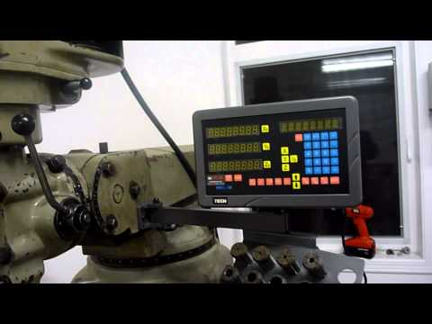 M Tech DROII 3M DRO Installation YouTube