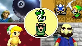 All Mario References and Cameos in Zelda Games (1986 - 2018)