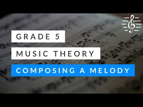 Music Theory - Composing a Melody (in a Minor Key)