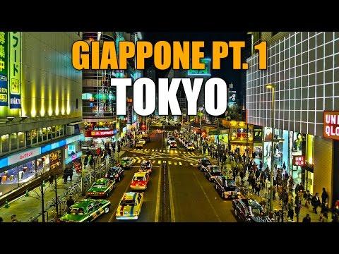 Viaggio in Giappone Pt. 1 - TOKYO