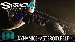 Asteroid Belt - Maya Tutorial - 1080p