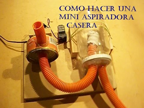 Como hacer una mini aspiradora casera youtube for Como construir una pileta de hormigon