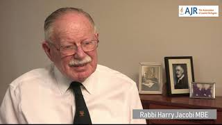 Rabbi Harry Jacobi describes his journey on the SS Bodegraven