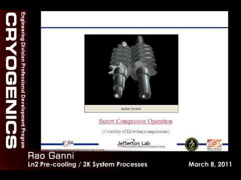 JLab Engineering Seminars - Liquid Nitrogen Pre-cooling/2K System Processes