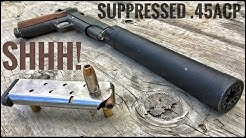 Suppressed .45 ACP | How Quiet Is It? [Silencer Series Ep. 03]