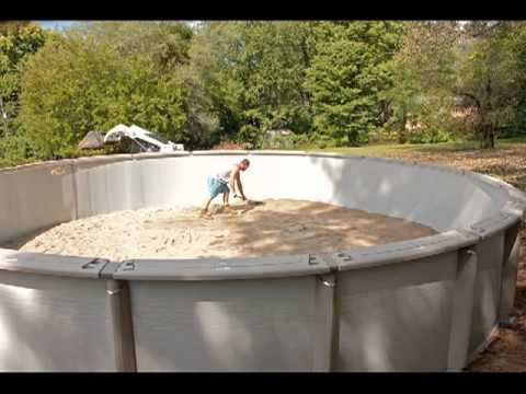 Above ground pool installation video by above beyond 816 421 4011 youtube for Installing swimming pool