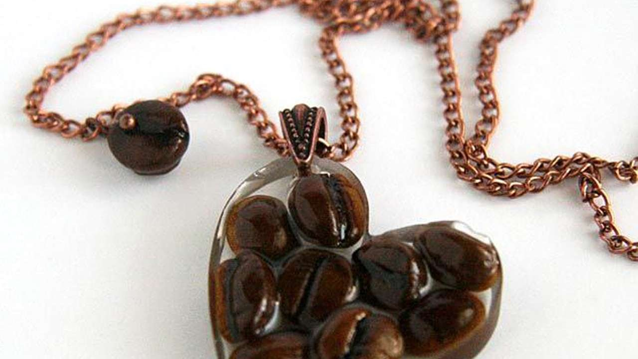 Coffee Bean Jewelry-Telugu Fashion News