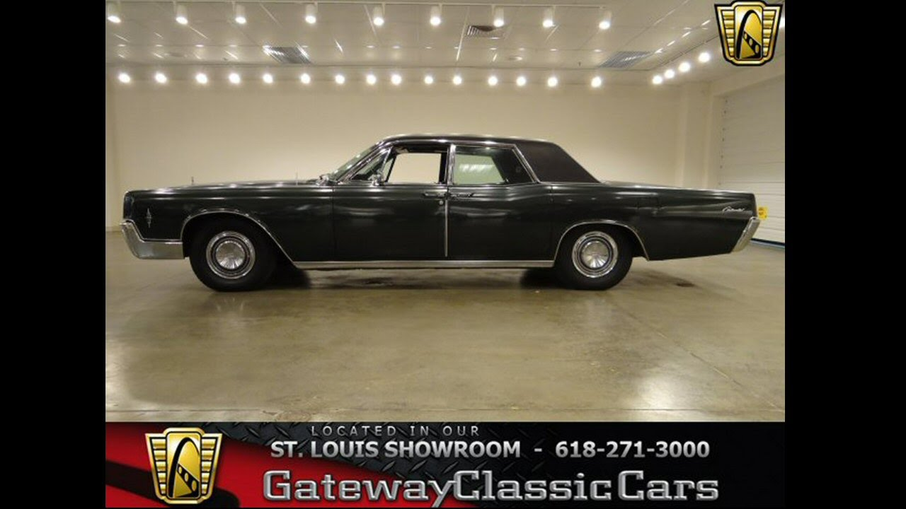 1966 Lincoln Continental-Gateway Classic Cars St. Louis, MO - YouTube