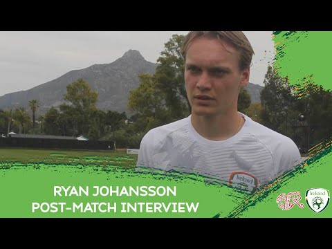 POST-MATCH INTERVIEW | #IRLU21's Ryan Johansson after his return playing for Ireland