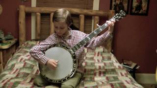 8 Year Old Jonny Mizzone - Flint Hill Special - Sleepy Man Banjo Boys