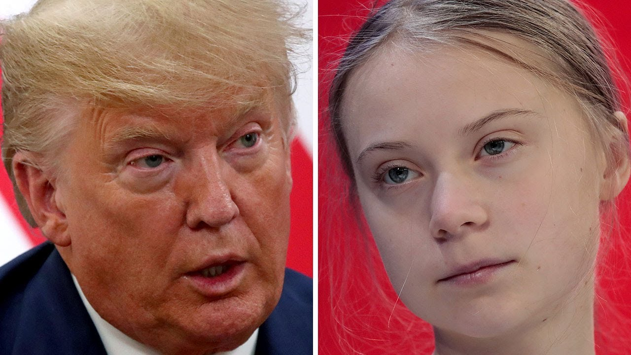 Trump Attacks Greta Thunberg At Davos, Then Claims He Doesn't ...