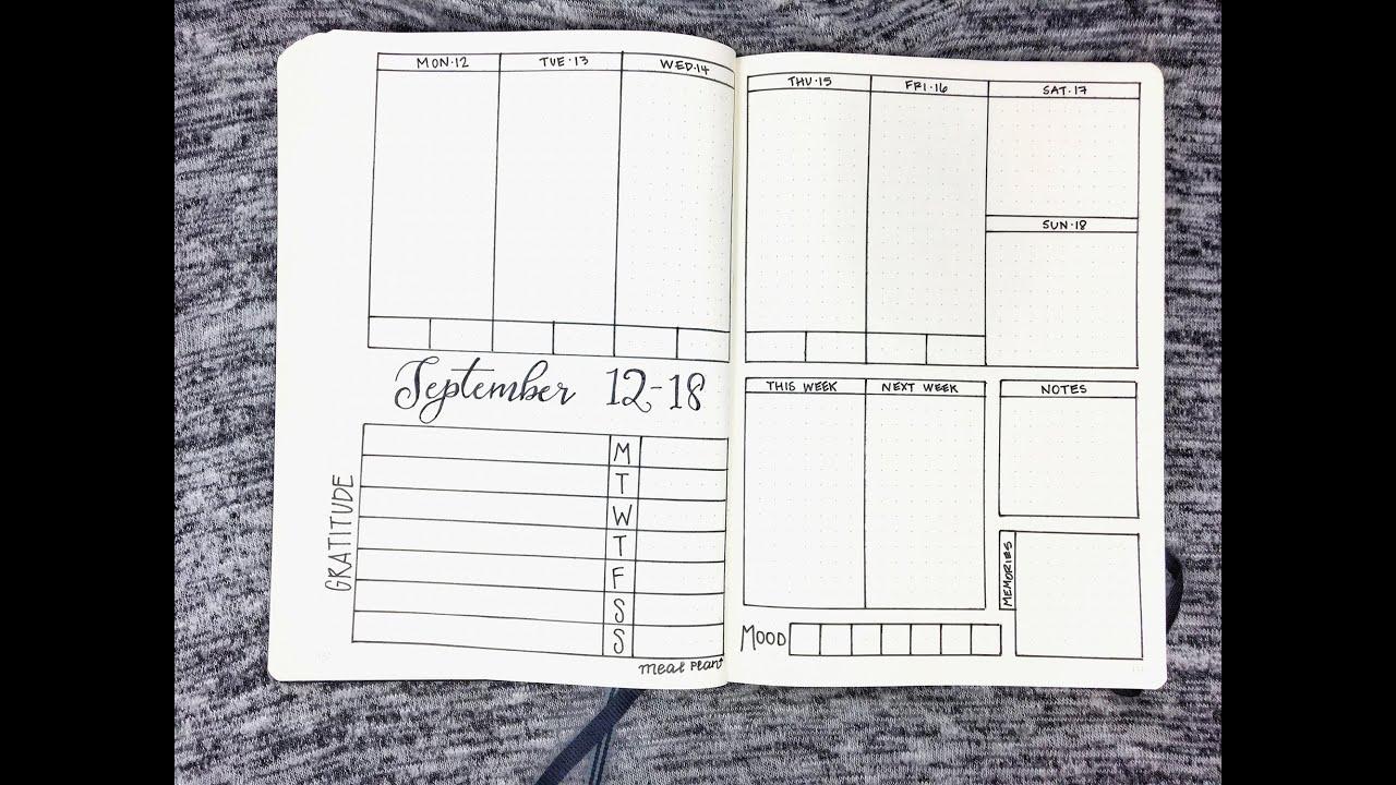 weekly school planner template