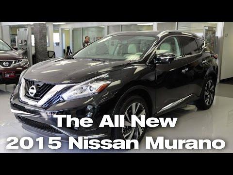 Review: The All New 2015 Nissan Murano in Minneapolis, St Paul, Wayzata, MN | Murano S, SV, Platinum