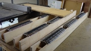 Table Saw Outfeed Supports