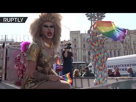 «Марш равенства» за права ЛГБТ в центре Киева закончился беспорядками
