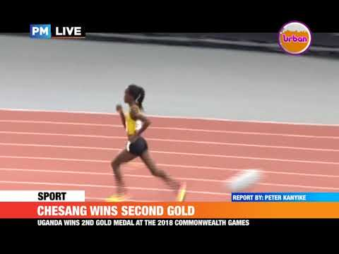CHESANG WINS SECOND GOLD
