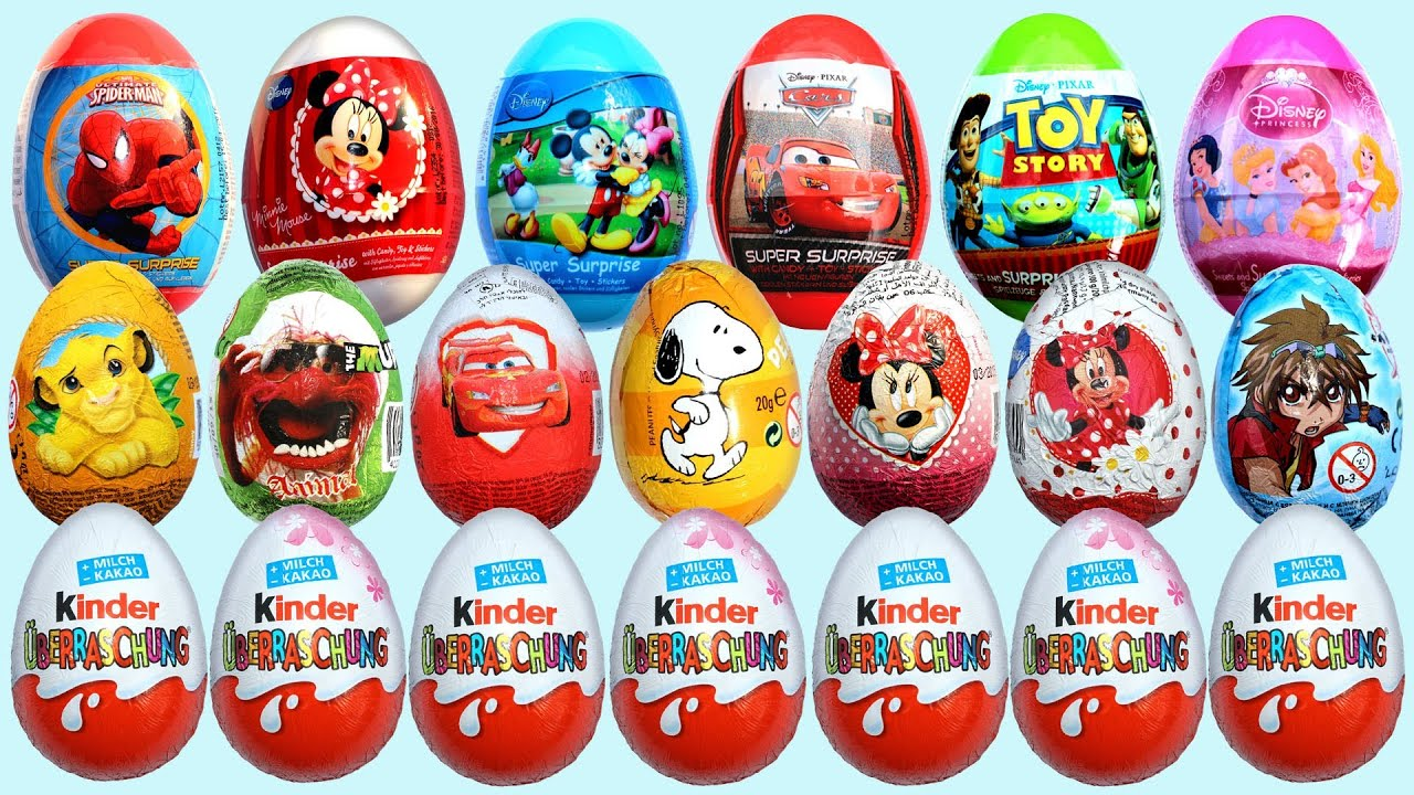 Disney Eggs Cars
