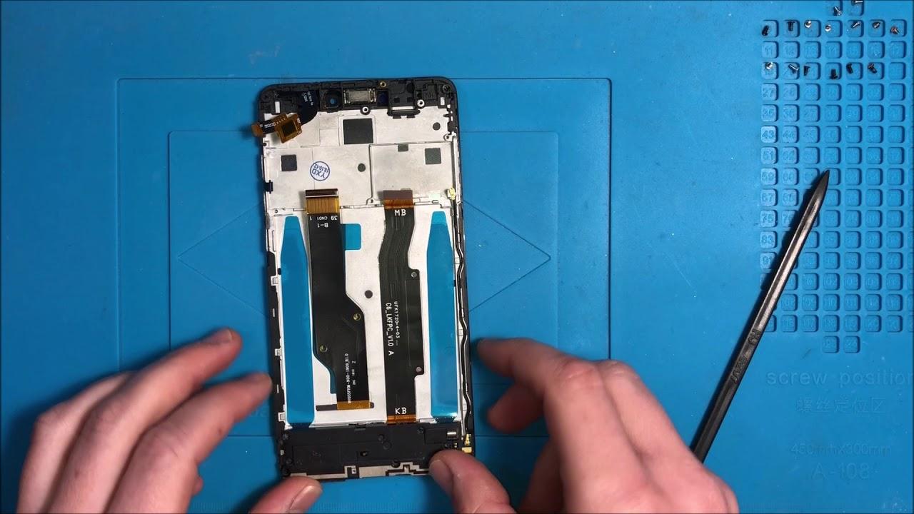 Cambiar LCD Xiaomi Redmi Note 4X