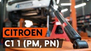 Wie CITROËN C1 (PM_, PN_) Bremszangenhalter austauschen - Video-Tutorial