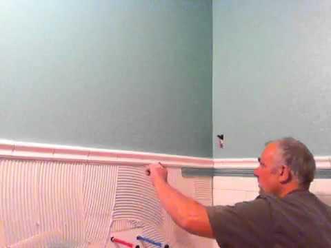 Installation Tile Wainscoting Amp Subway Tile 9 13 10 Youtube