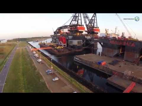 SSCV Thialf : Largest Crane Vessel in the World