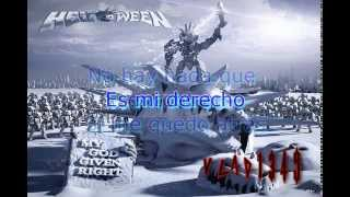 Helloween - My God Given Right (Sub. Español)