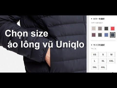 Kinh Nghiệm Chọn Và Tính Size Quần Áo Nam Nữ Uniqlo Nhật Bản