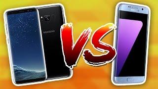 Galaxy S8+ vs Galaxy S7 Edge karşılaştırması!