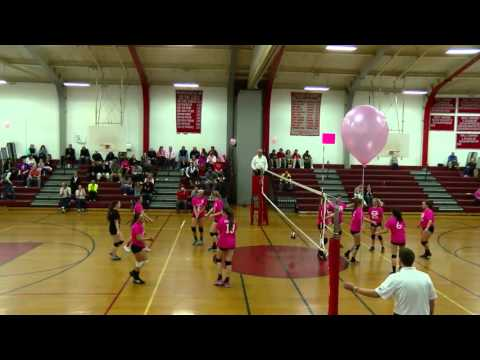 Spartans Varsity Girls Volleyball vs. Mount Greylock