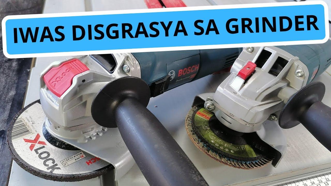 Mga DAPAT GAWIN bago GAMITIN ang grinder. How to use a Grinder and Safety tips!