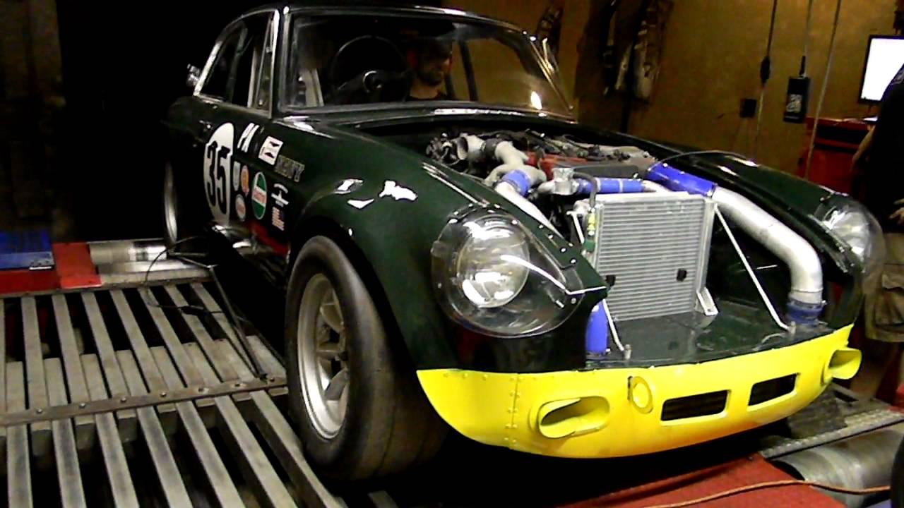 Dent Sport Garage MG Toyota Supra Turbo Motor Swap Dyno Session #1