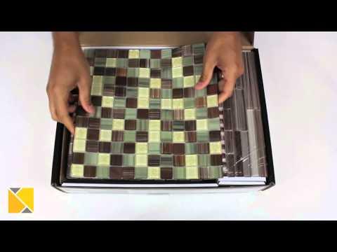 DIY Backsplash Peel and Stick Glass Tile Kit Review
